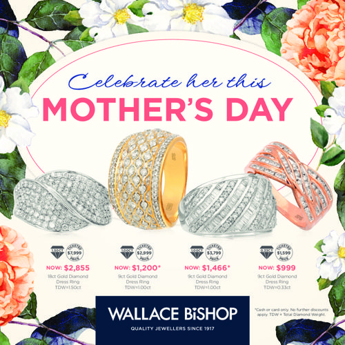The Wallace Bishop Mother's Day Catalogue 2016
