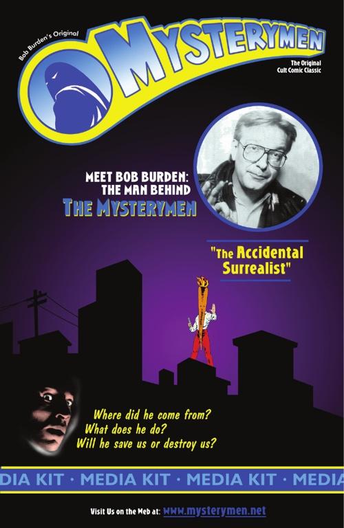 Mysterymen Media Kit