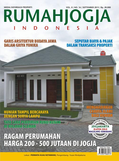 RumahJOGJA Indonesia edisi 16 | September 2013