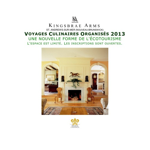 VOYAGES CULINAIRES ORGANISES 2013