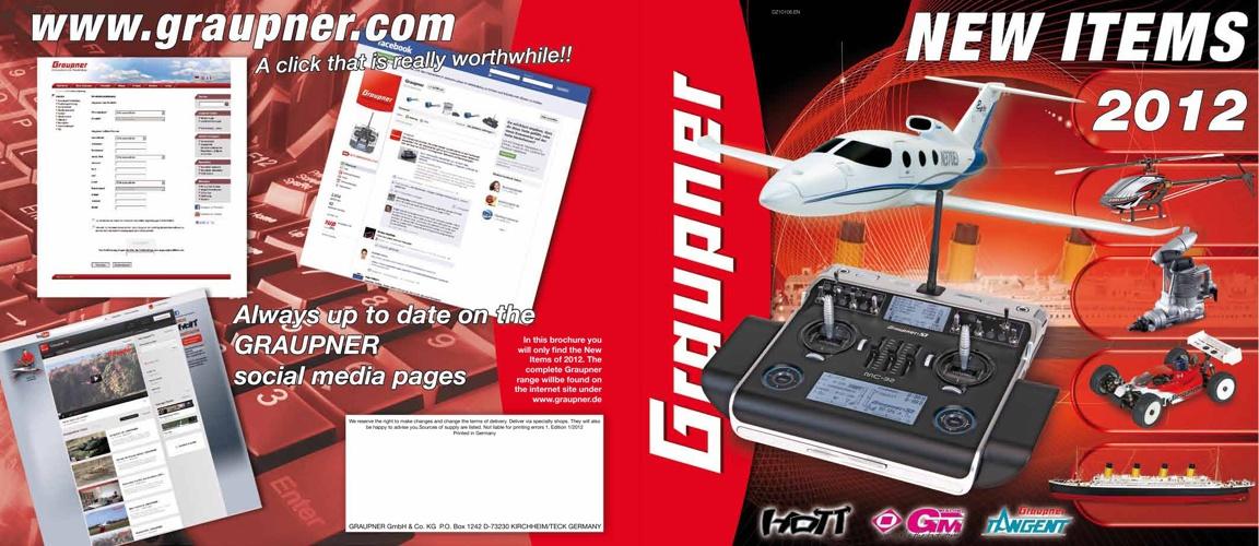 Graupner News 2012