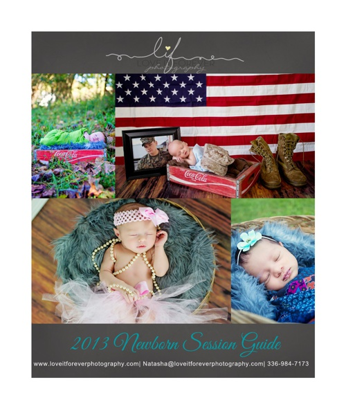 2013 Newborn Session Guide
