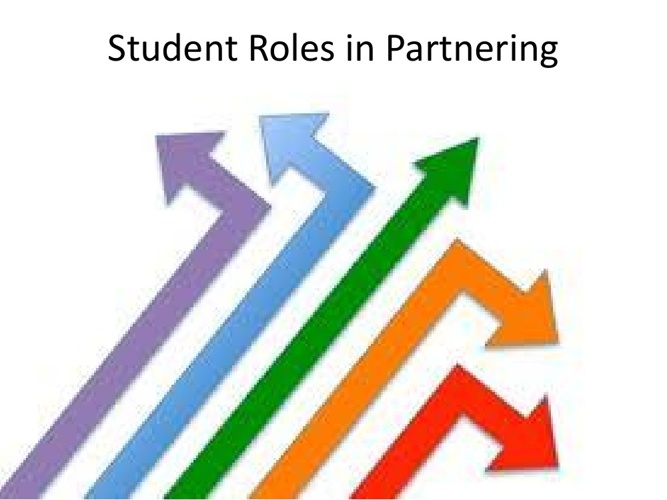 Student Roles in Partnering