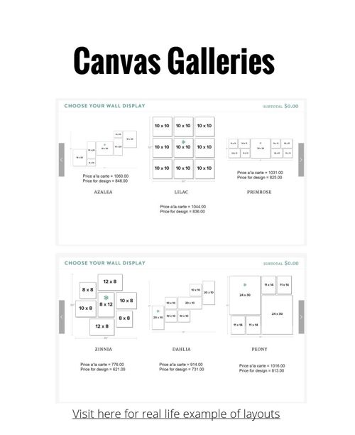 Canvas Gallery Pricing Guide