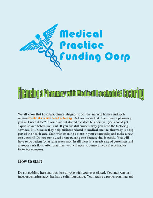 Financing_a_Pharmacy_with_Medical_Receivables_Factoring