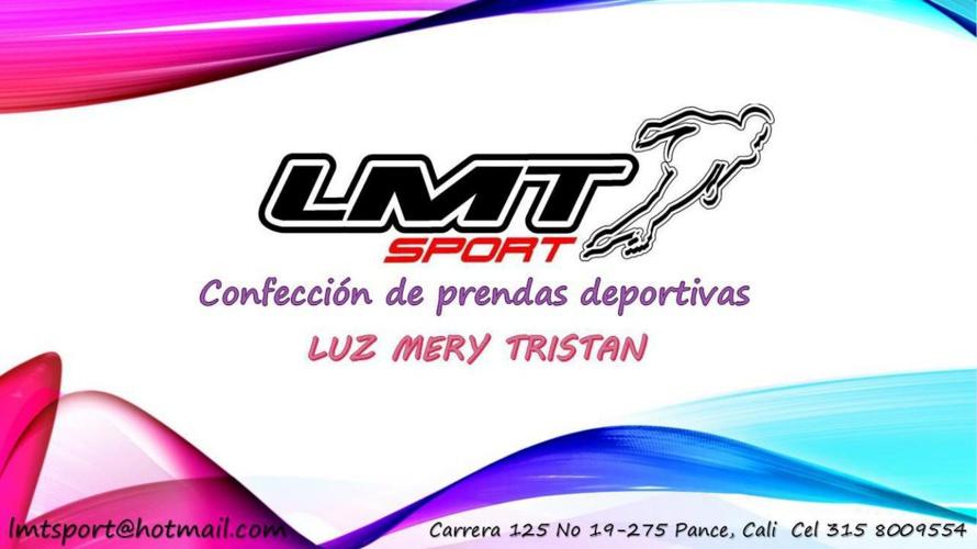 CATALOGO LMT SPORT LUZ MERY TRISTAN