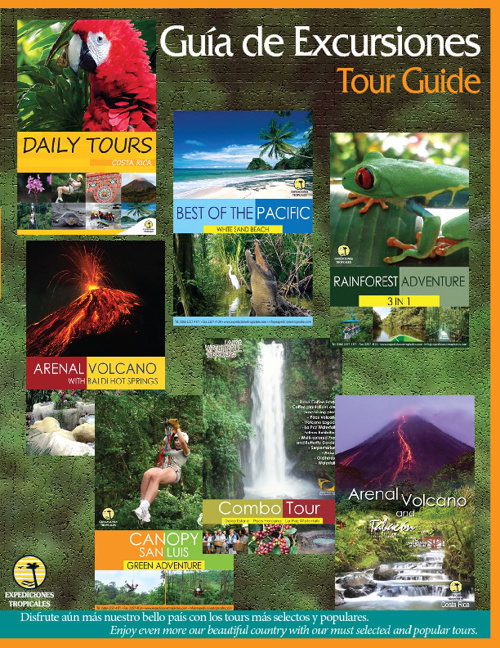 Tour Guide - Guia de Tours - Expediciones Tropicales