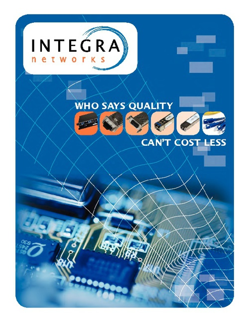 Integra Networks Catalog