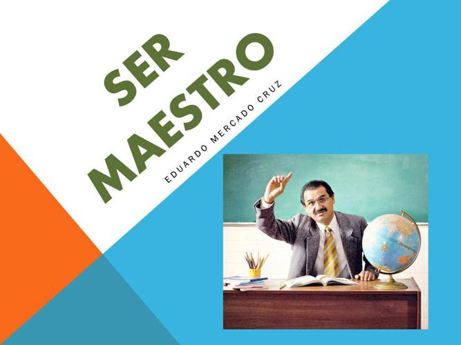 Ser maestro