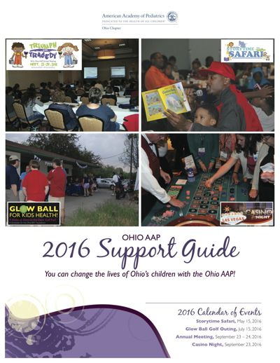 Ohio AAP Support Guide - 2016
