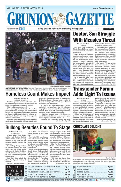 Grunion Gazette | February 5, 2015