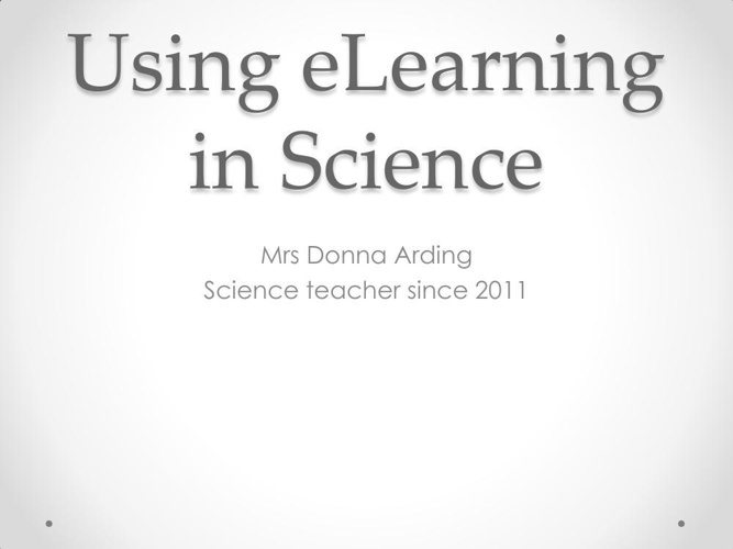 eLearning in Science PDF