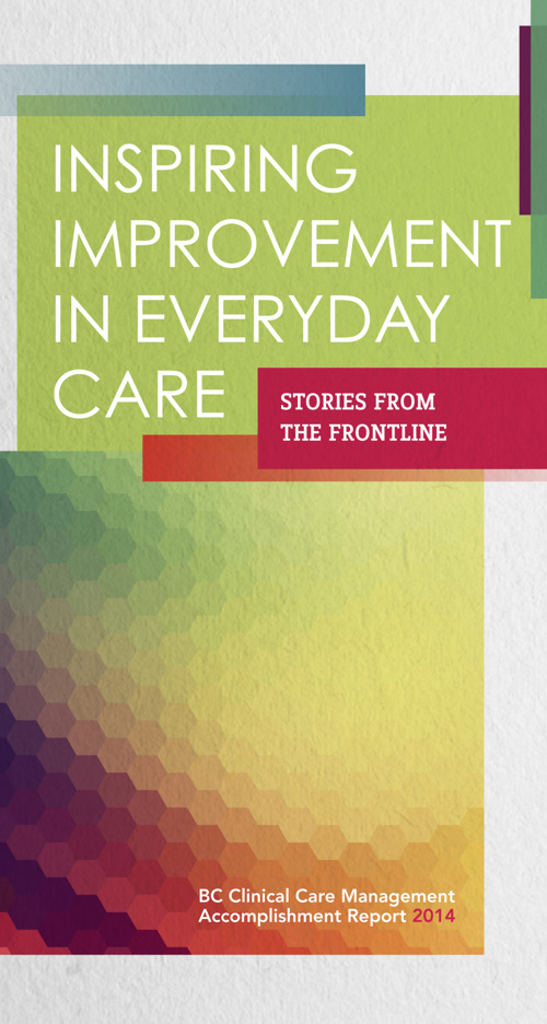 2014 BC Clinical Care Management Accomplishment Report
