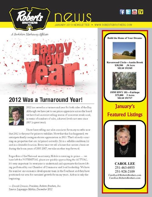 Carol's Newsletter