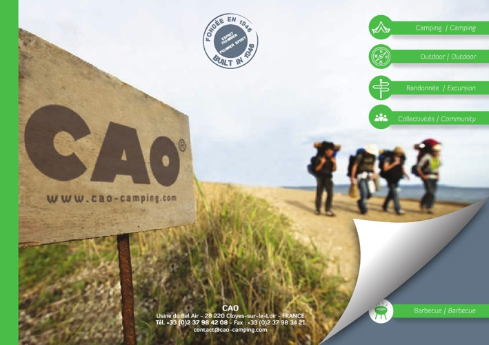 Catalogue CAO-camping 2013