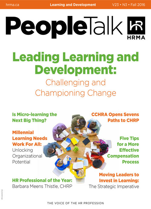 PeopleTalk-Fall-2016: Learning and Development