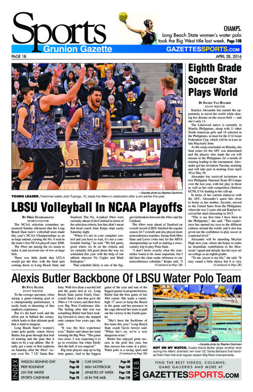 Gazette Sports | April 28, 2016