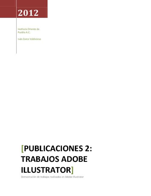Revista 2: Illustrator