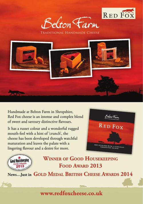 Copy of Belton Red Fox Cheese Recipe Card