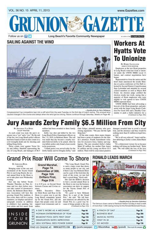 Grunion Gazette | April 11, 2013