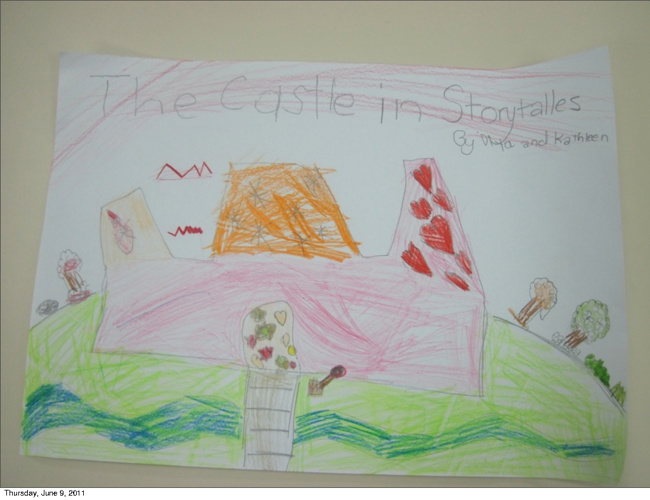 The Castle in Story Tales by Kathleen and Diya
