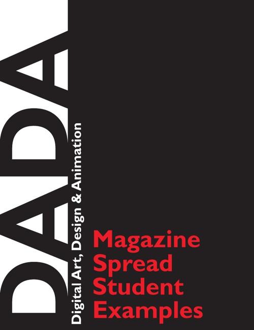 Magazine Spread Examples - DADA - NHS