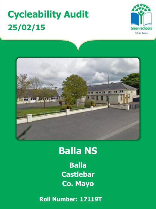 Balla NS Cycleability Audit - Report 2015