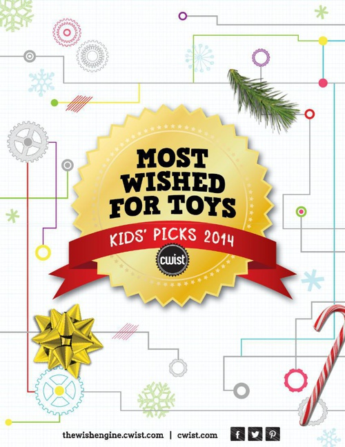 Kids' Top Picks 2014:  Most Wished-For Toys on CWIST