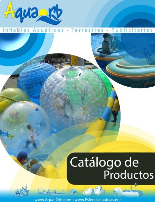 Catálogo de Inflables Acuáticos AquaOrb 2013