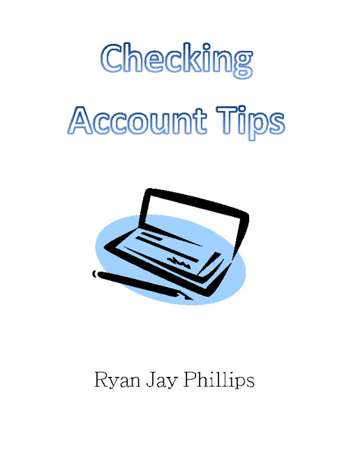checking account flip book