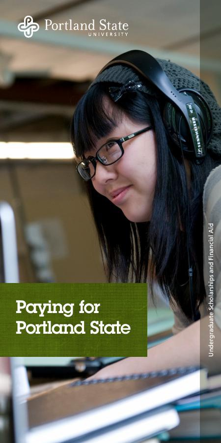 Paying for PSU Brochure