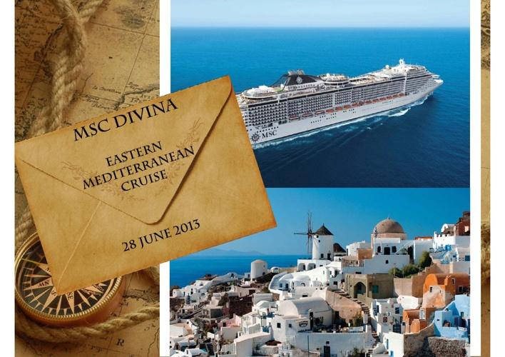 Metropolitan Med Cruise - East Med Cruise - MSC Divina