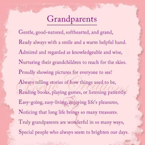 descriptive essay about grandparents