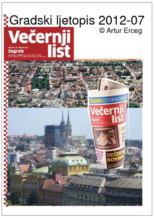 Gradski Ljetopis ZG-2012-07 /'32.izdanje VL' / ideja © ž.er©eg