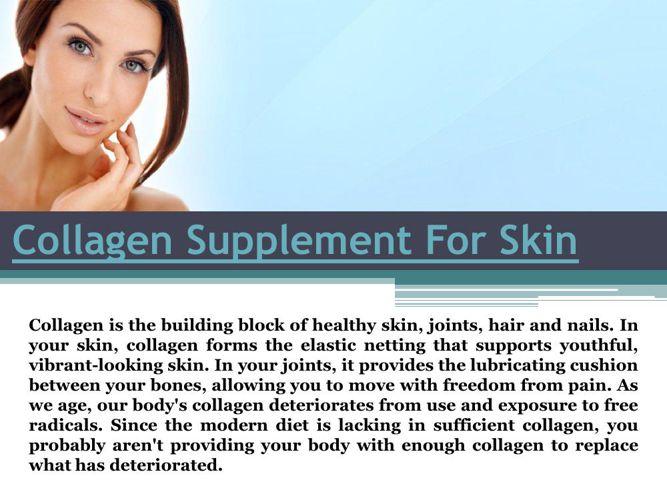Collagen Supplement For Skin