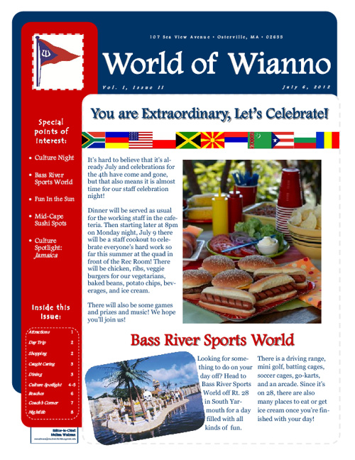 World of Wianno volume 1, issue 2