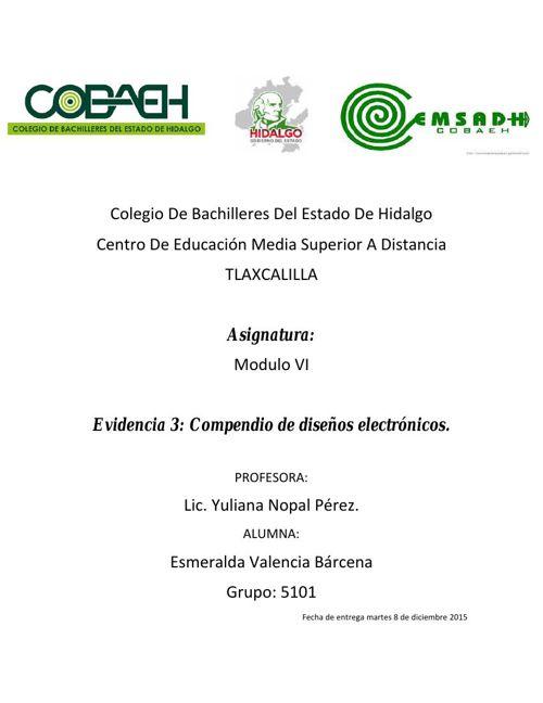 compendio de diseños electronicos Esmeralda Valencia BARCENA 510