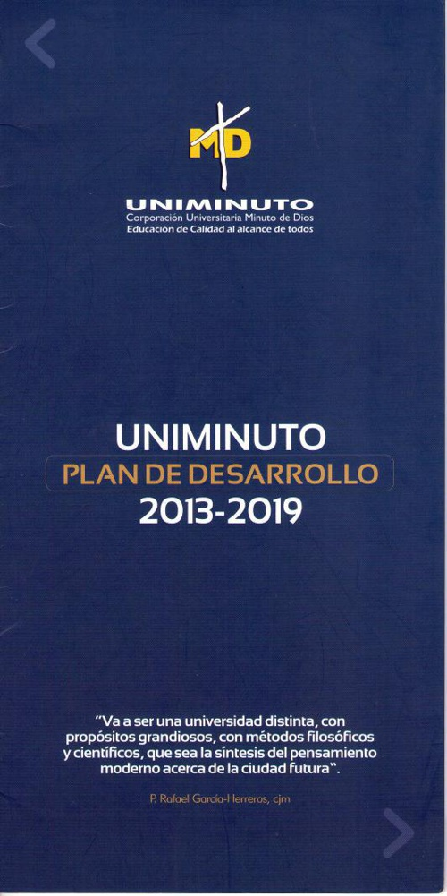 Plan de Desarrollo Uniminuto 2013-2019