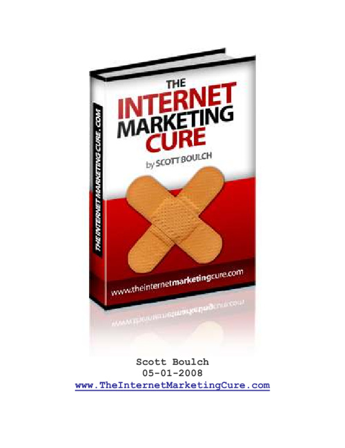The Internet Marketing Cure