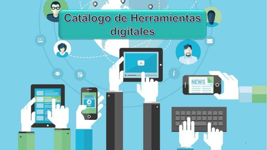 Catálogo 50 Herramientas Digitales para la Educación
