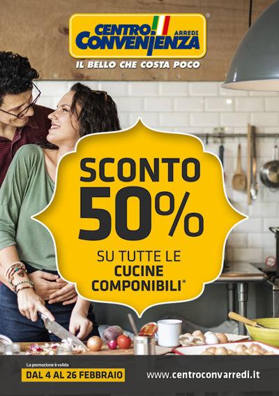 Catalogo Sconto 50% Cucine Componibili Febbraio 2017