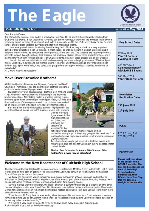 Newsletter 02 May 2014
