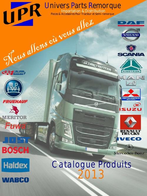 UPR catalogue