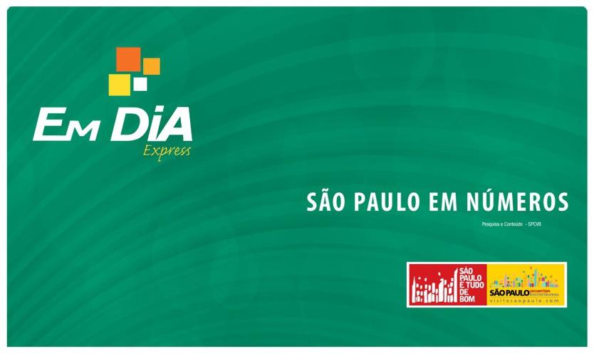 São Paulo Em Números