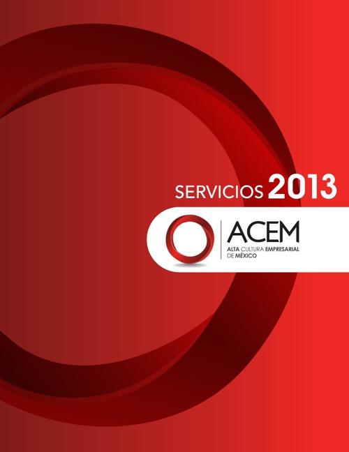 Presentacion ACEM - Servicios 2013