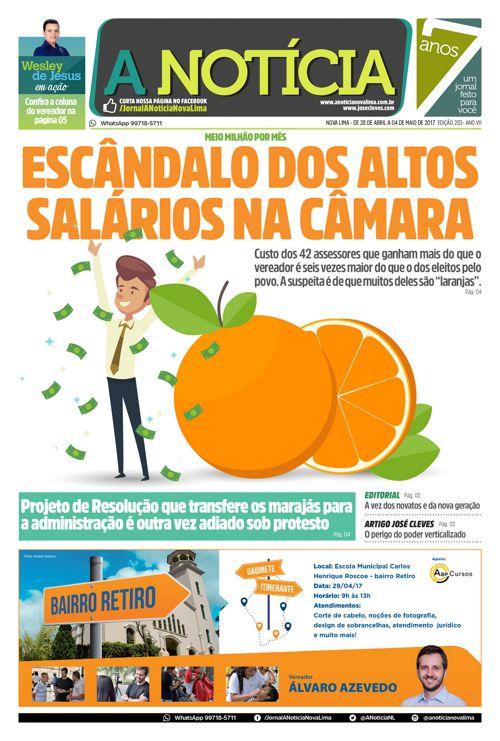 Jornal A Notícia - Edição 283