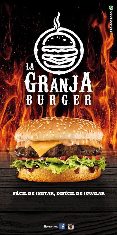 Menú La Granja Burger 2015