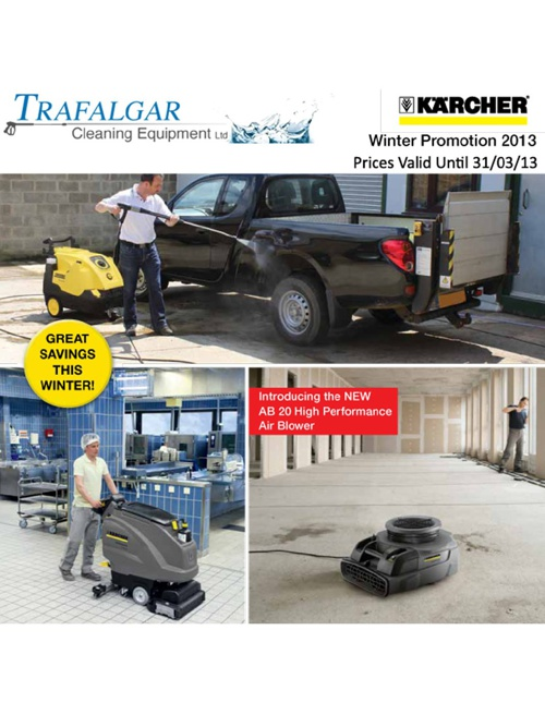 Karcher Winter Promotion 2013