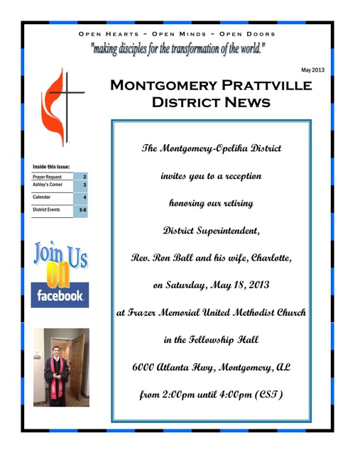 MTPT May Newsletter