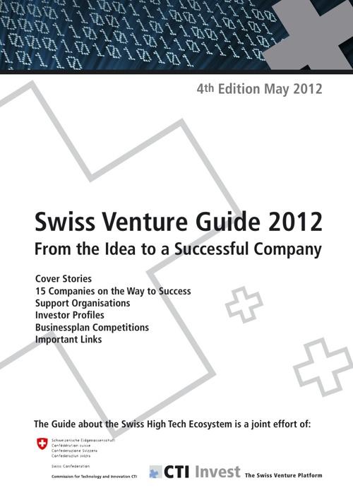 Swiss Venture Guide 2012